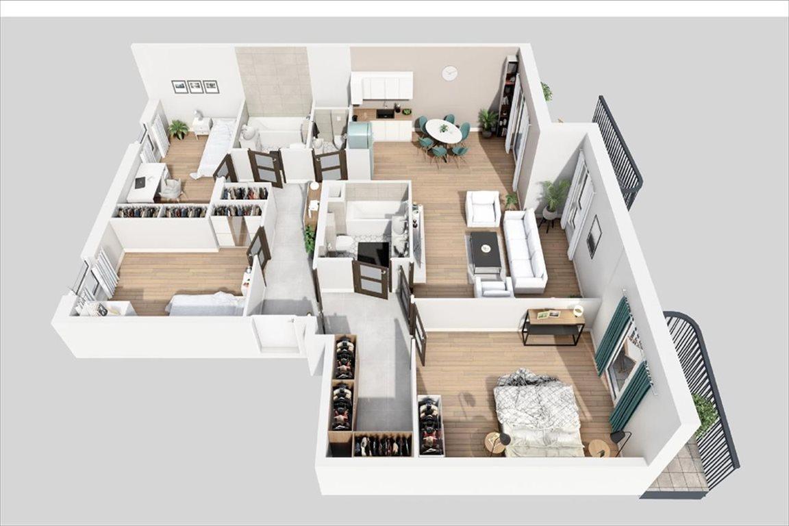 Mieszkanie czteropokojowe  na sprzedaż Warszawa, Bemowo, Batalionów Chłopskich  110m2 Foto 5