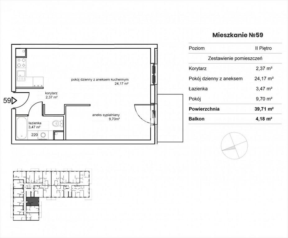 Mieszkanie dwupokojowe na sprzedaż Bydgoszcz, Okole, Garbary  40m2 Foto 8