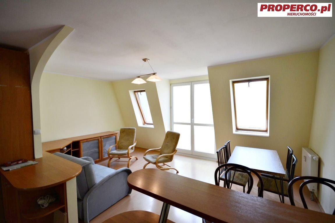 Mieszkanie trzypokojowe na wynajem Kielce, Centrum, Nowy Świat  55m2 Foto 2
