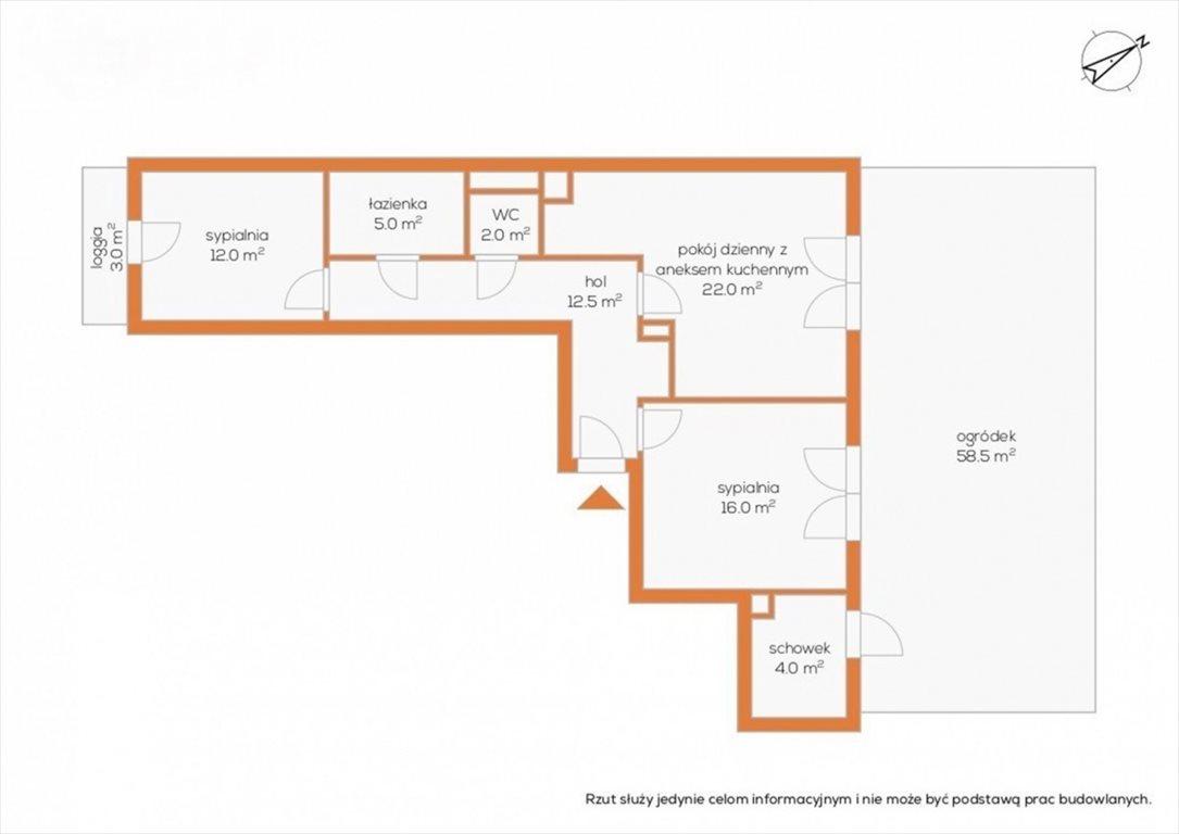 Mieszkanie trzypokojowe na sprzedaż Warszawa, Wola, Obozowa  69m2 Foto 10