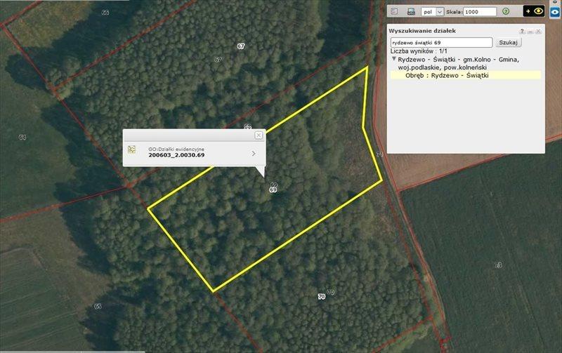 Działka leśna na sprzedaż Rydzewo-Świątki  7555m2 Foto 2