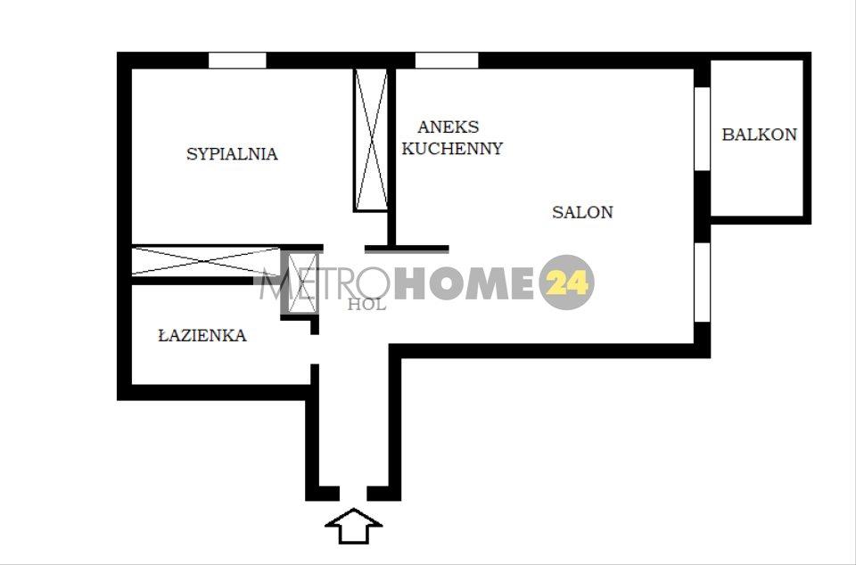 Mieszkanie dwupokojowe na sprzedaż Warszawa, Mokotów, al. Aleja Wyścigowa  42m2 Foto 12