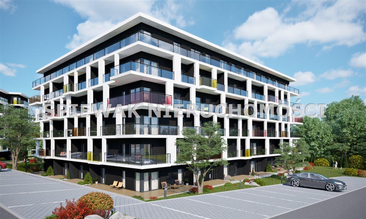 Mieszkanie trzypokojowe na sprzedaż Bielsko-Biała, Sarni Stok  52m2 Foto 1