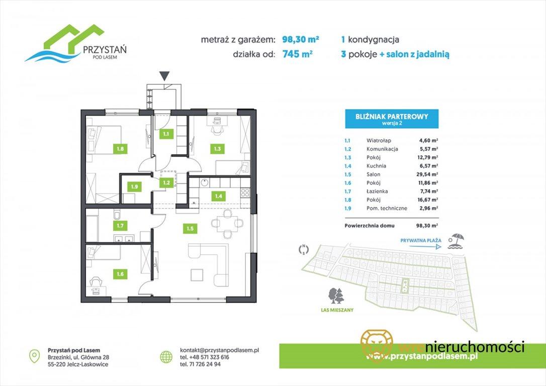 Dom na sprzedaż Brzezinki  100m2 Foto 8