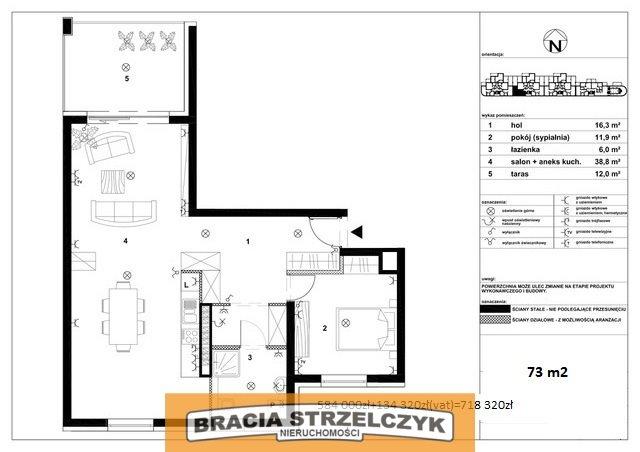 Mieszkanie dwupokojowe na sprzedaż Zegrze Południowe, Rybaki  73m2 Foto 2