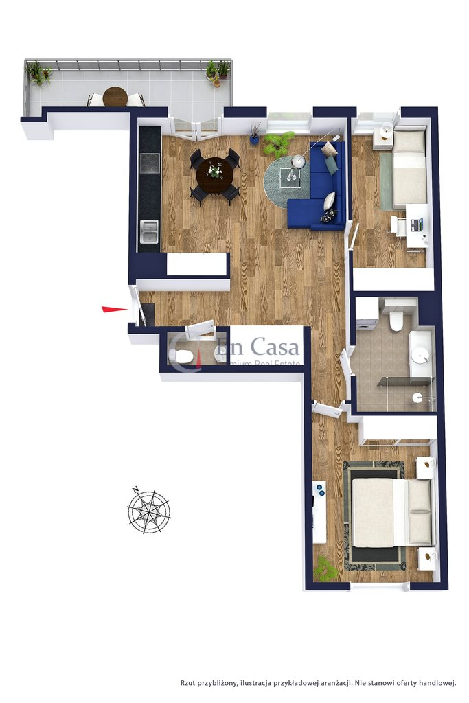 Mieszkanie trzypokojowe na sprzedaż Warszawa, Żoliborz, Jasnodworska  66m2 Foto 10