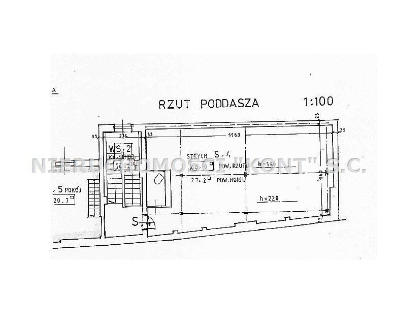 Mieszkanie dwupokojowe na sprzedaż Kraków, Długa  68m2 Foto 11