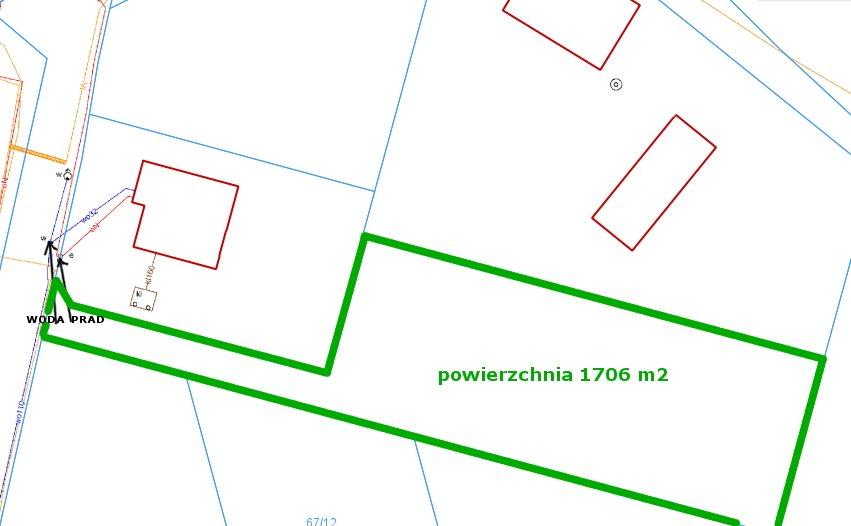 Działka budowlana na sprzedaż Siedleczek, Siedleczek  1700m2 Foto 13