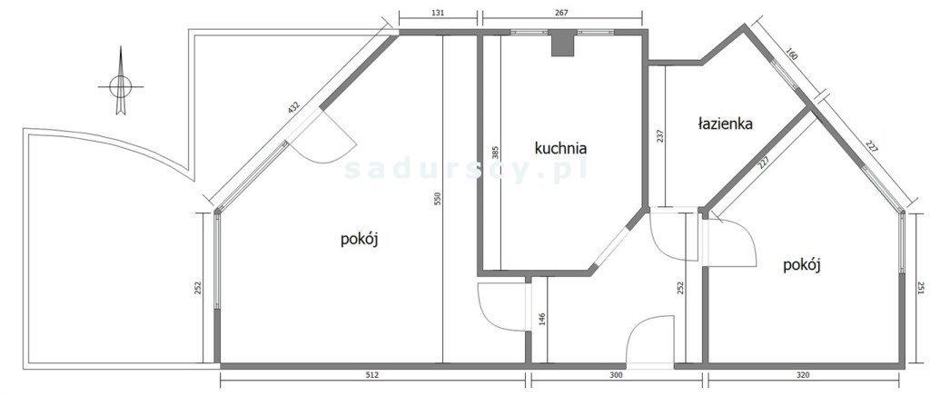 Mieszkanie dwupokojowe na sprzedaż Kraków, Bronowice, Bronowice Małe, Balicka  51m2 Foto 4