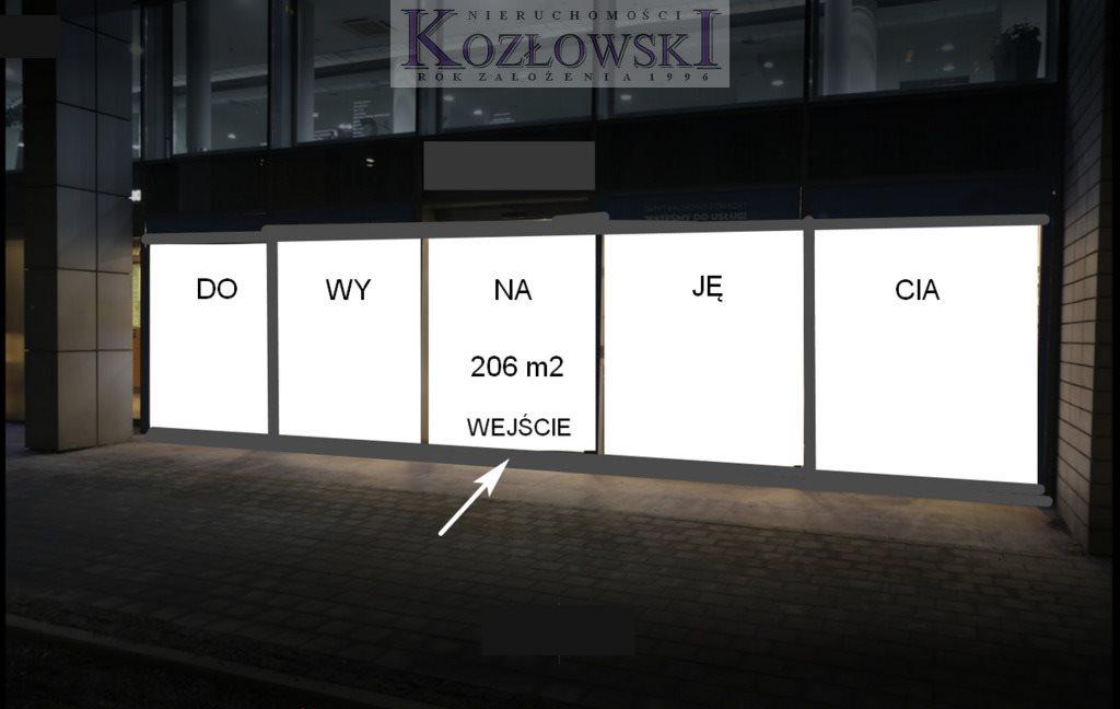 Lokal użytkowy na wynajem Gdynia, Centrum, Władysława IV  206m2 Foto 3