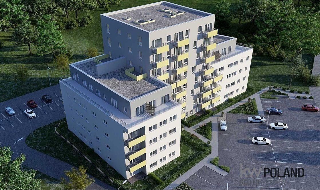 Mieszkanie trzypokojowe na sprzedaż Gliwice, Kozielska  54m2 Foto 1