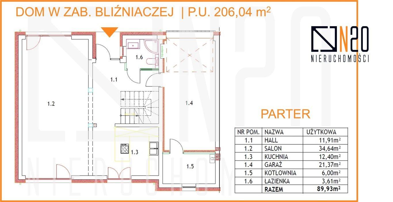 Dom na sprzedaż Kraków, Dębniki, Skotniki, Skotnicka - okolice  196m2 Foto 4