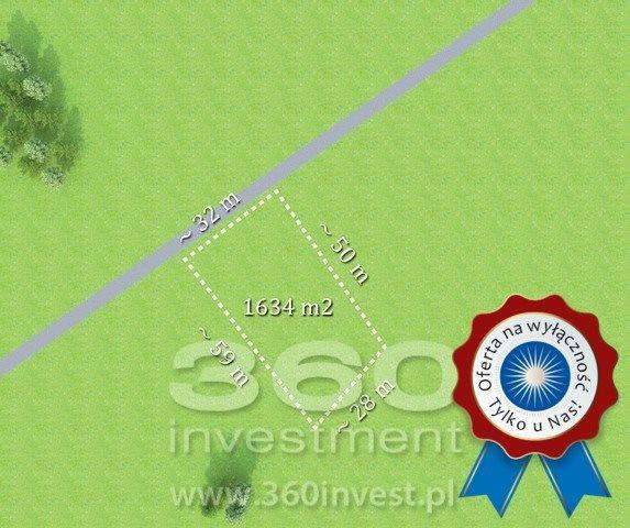 Działka rolna na sprzedaż Stobno  1649m2 Foto 1