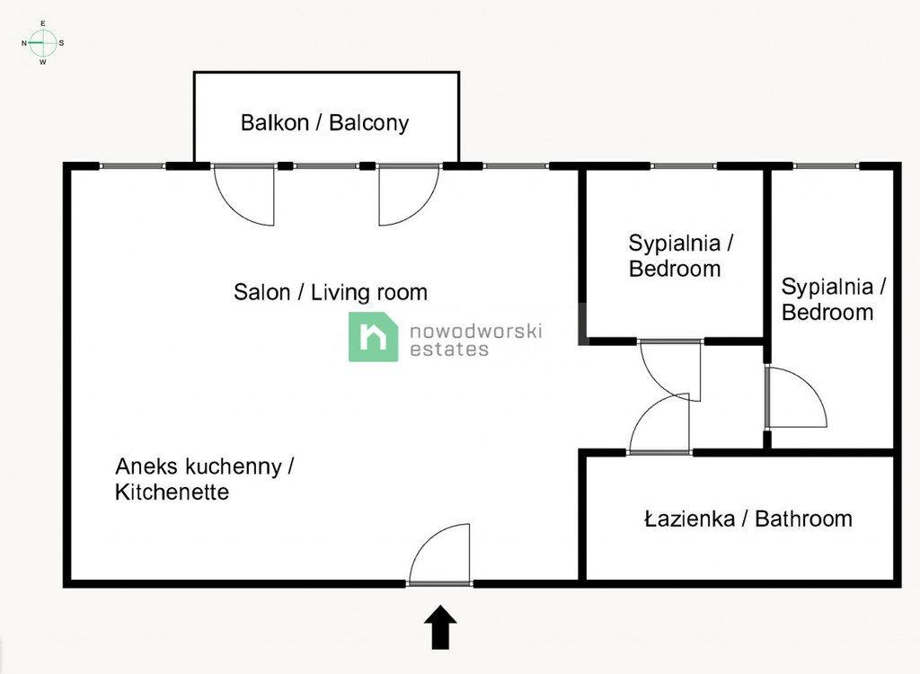 Mieszkanie trzypokojowe na sprzedaż Kraków, Bronowice, Bronowice, Eljasza Walerego Radzikowskiego  70m2 Foto 10