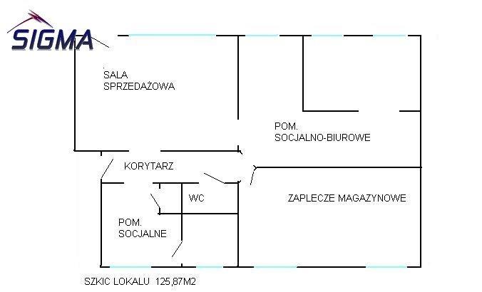 Lokal użytkowy na sprzedaż Bytom, Bobrek, Zabrzańska  126m2 Foto 9