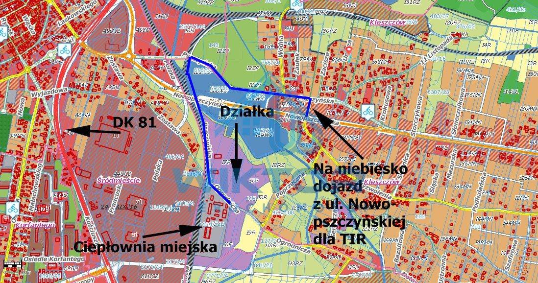 Działka przemysłowo-handlowa pod dzierżawę Żory, Kleszczów, Ogrodnicza  4020m2 Foto 6