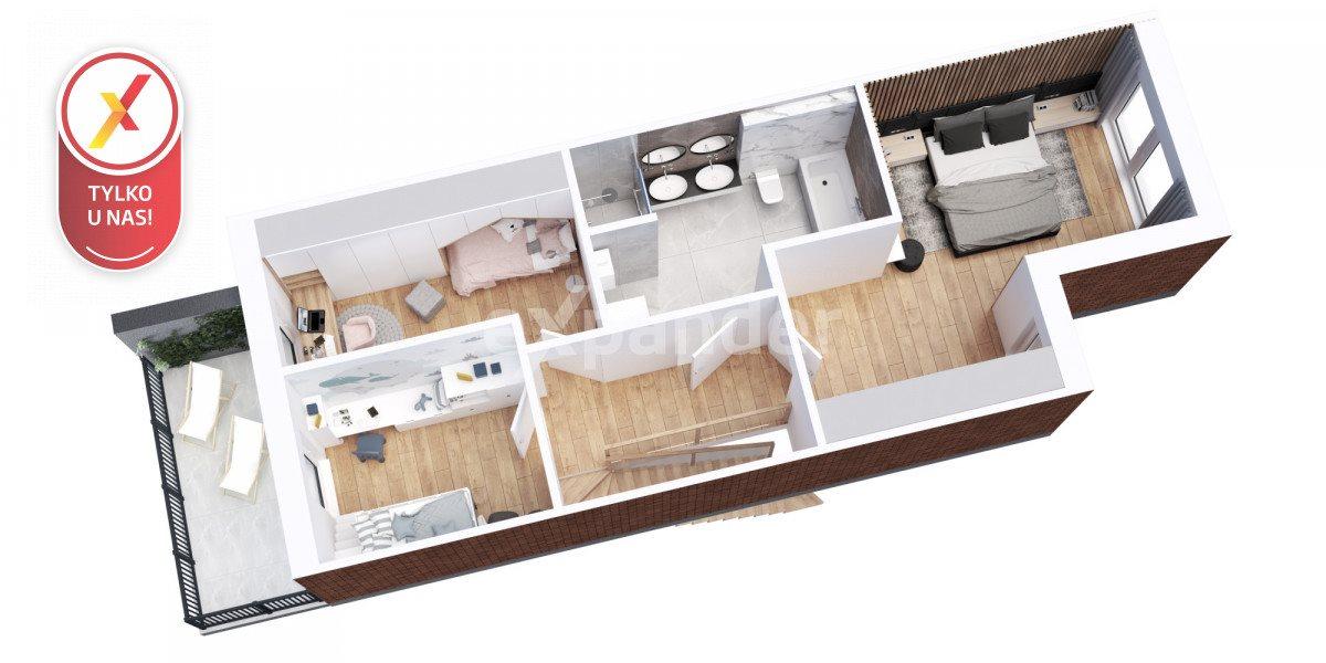 Mieszkanie czteropokojowe  na sprzedaż Lubin  115m2 Foto 7
