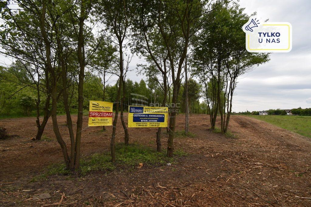 Działka budowlana na sprzedaż Częstochowa, Wyczerpy Górne, Sąsiedzka  830m2 Foto 1