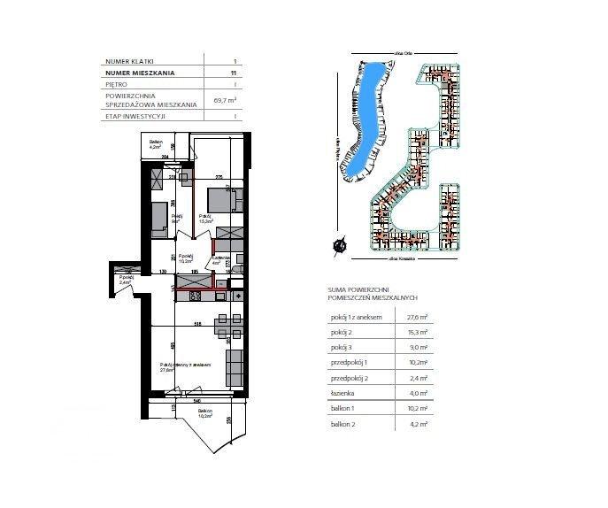 Mieszkanie trzypokojowe na sprzedaż Bydgoszcz, Szwederowo, Piękna  70m2 Foto 4
