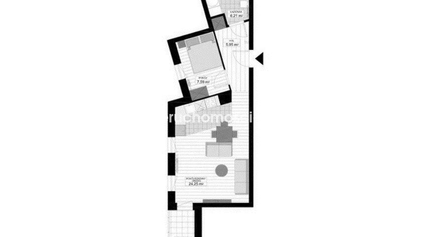 Mieszkanie dwupokojowe na sprzedaż Bydgoszcz, Glinki  45m2 Foto 2