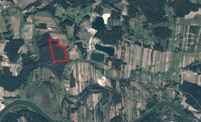 Działka leśna na sprzedaż Grudunki  140100m2 Foto 1