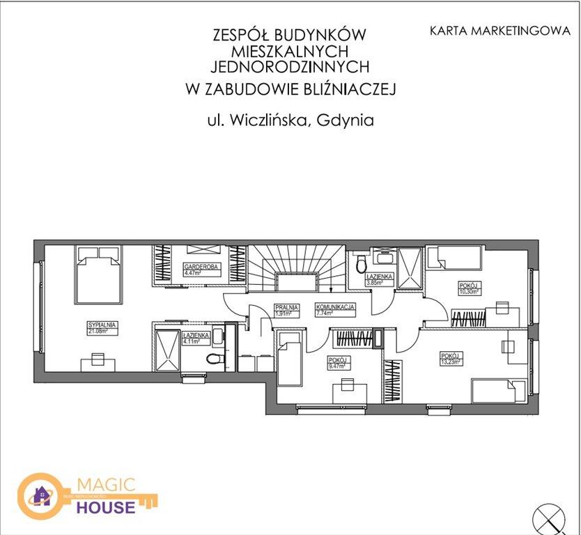 Dom na sprzedaż Gdynia, Dąbrowa, Wiczlińska  196m2 Foto 8