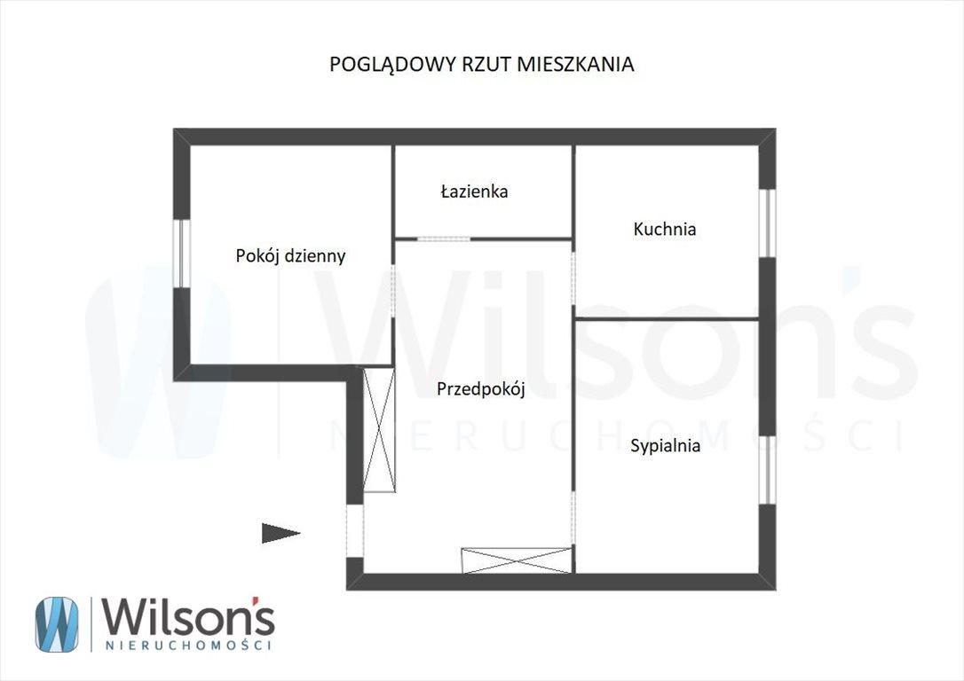 Mieszkanie dwupokojowe na sprzedaż Warszawa, Śródmieście, Stanisława Dubois  46m2 Foto 9