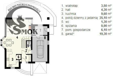 Działka budowlana na sprzedaż Kraków, Nowa Huta, Kościelniki  1400m2 Foto 6