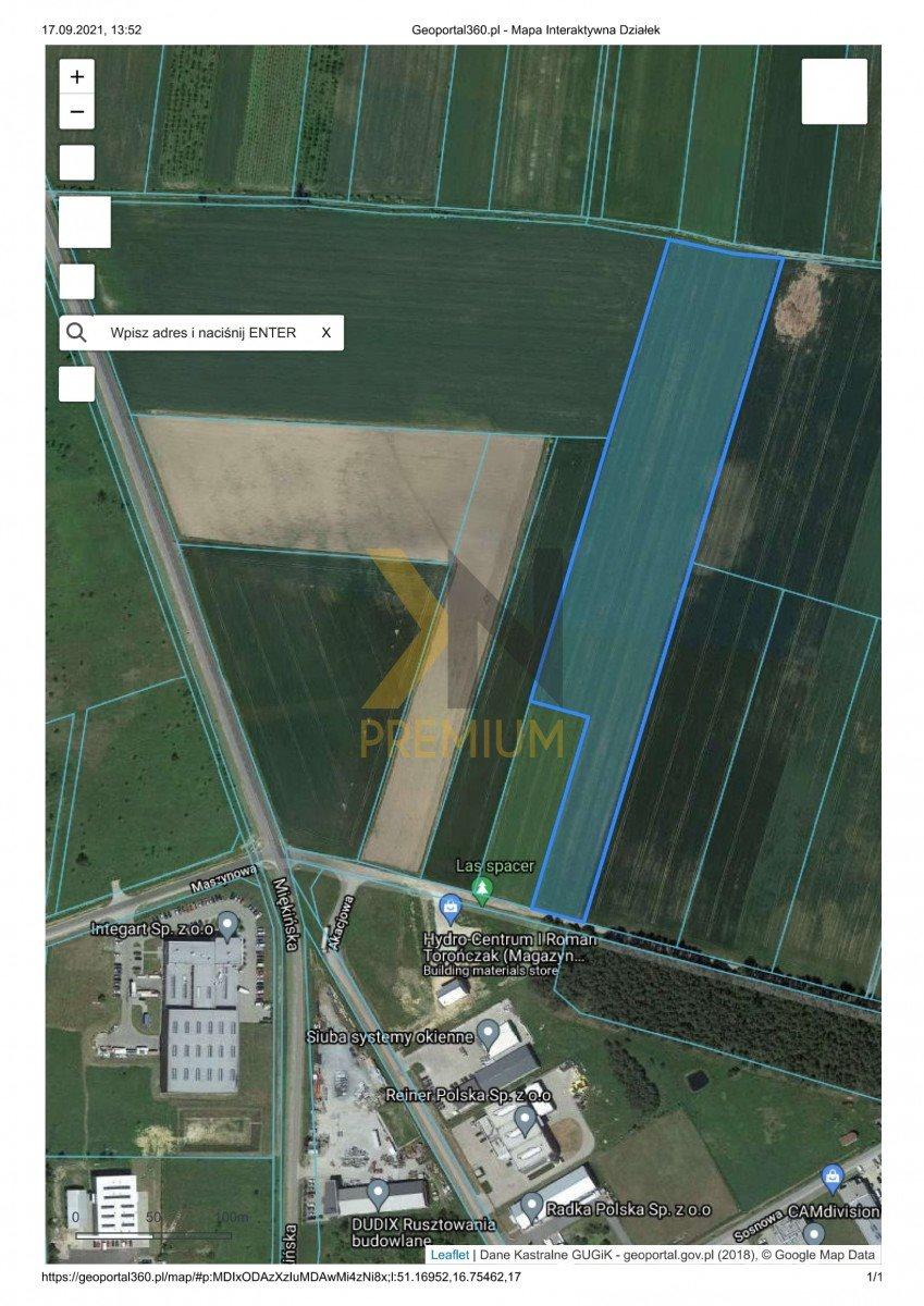 Działka rolna na sprzedaż Błonie, Przemysłowa  27074m2 Foto 2