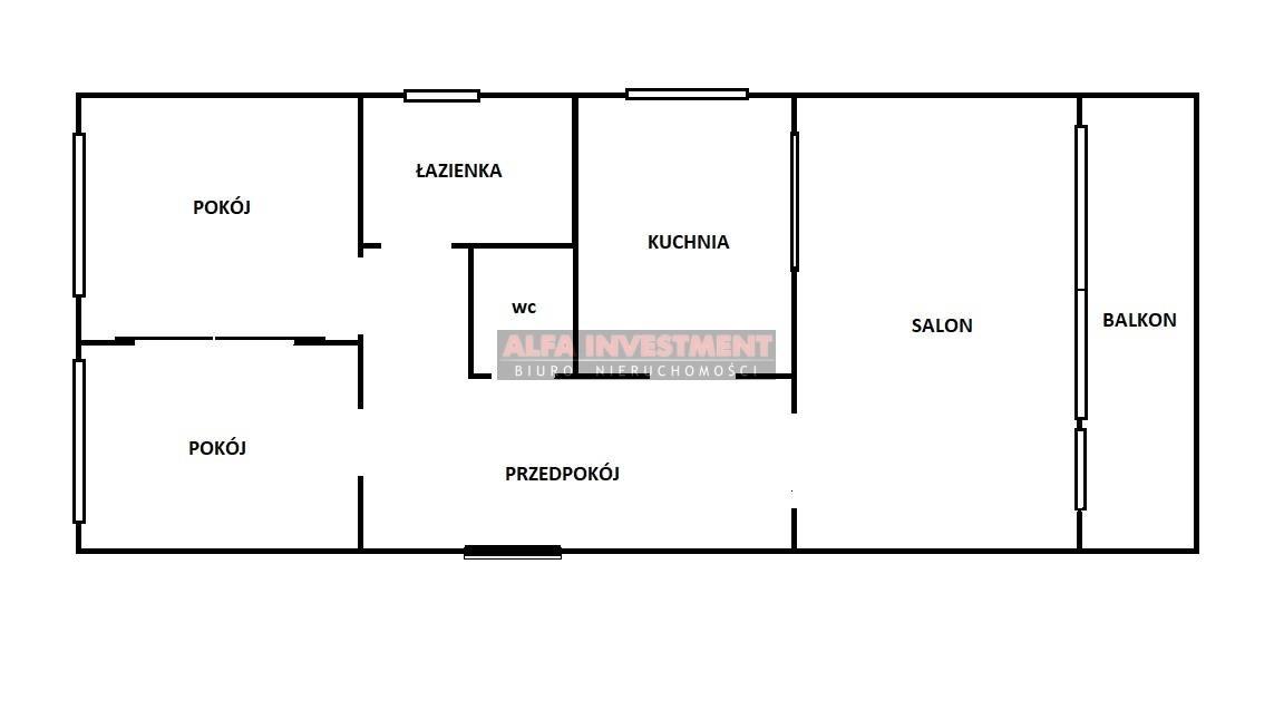 Mieszkanie trzypokojowe na sprzedaż Toruń, Koniuchy, Mohna  64m2 Foto 12
