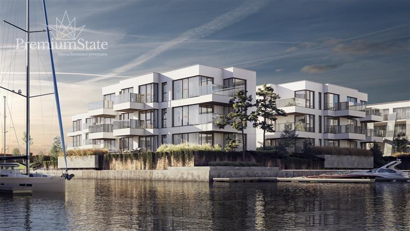 Mieszkanie dwupokojowe na sprzedaż Gdańsk, Śródmieście, Sol Marina, SZAFARNIA  41m2 Foto 1