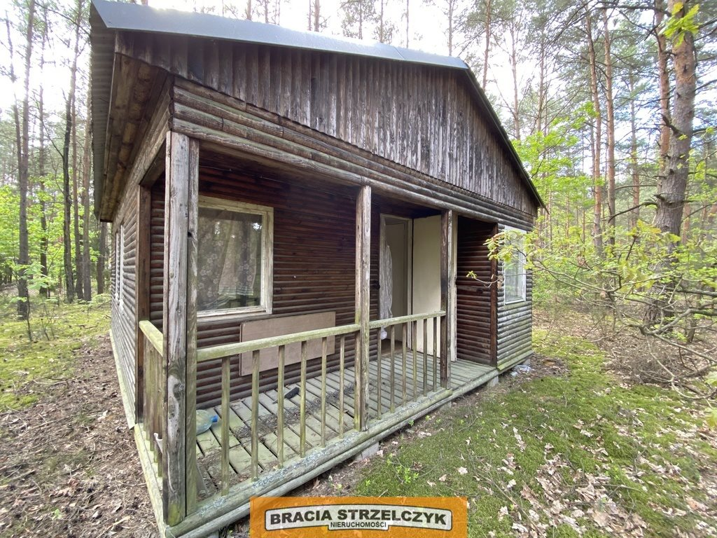 Działka leśna na sprzedaż Wólka Mlęcka  2800m2 Foto 3