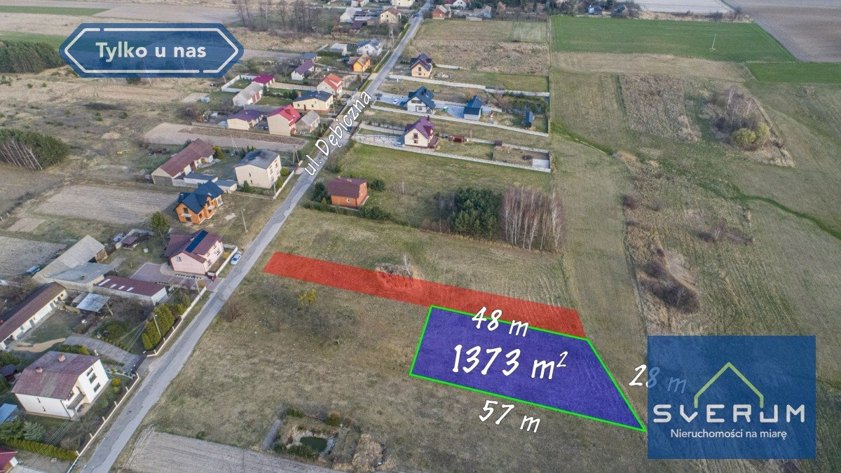 Działka budowlana na sprzedaż Truskolasy  1373m2 Foto 1