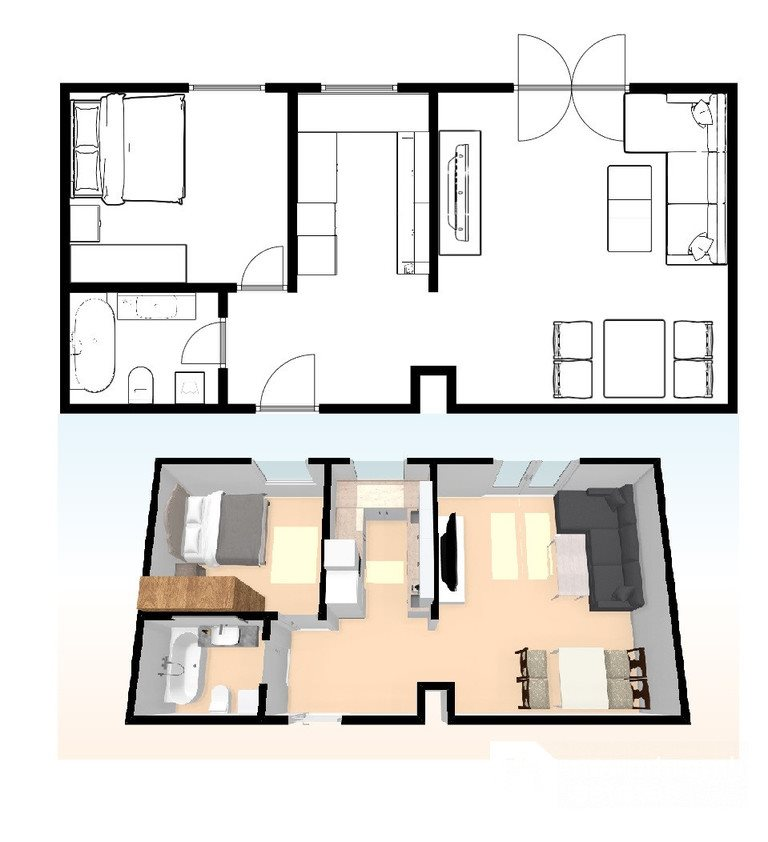 Mieszkanie dwupokojowe na sprzedaż Gdańsk, Wrzeszcz Dolny, Joachima Lelewela  50m2 Foto 12