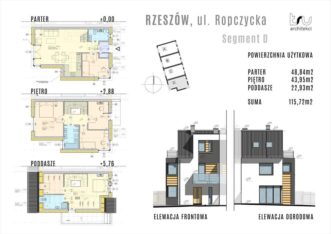 Dom na sprzedaż Rzeszów, Baranówka, Ropczycka  117m2 Foto 3