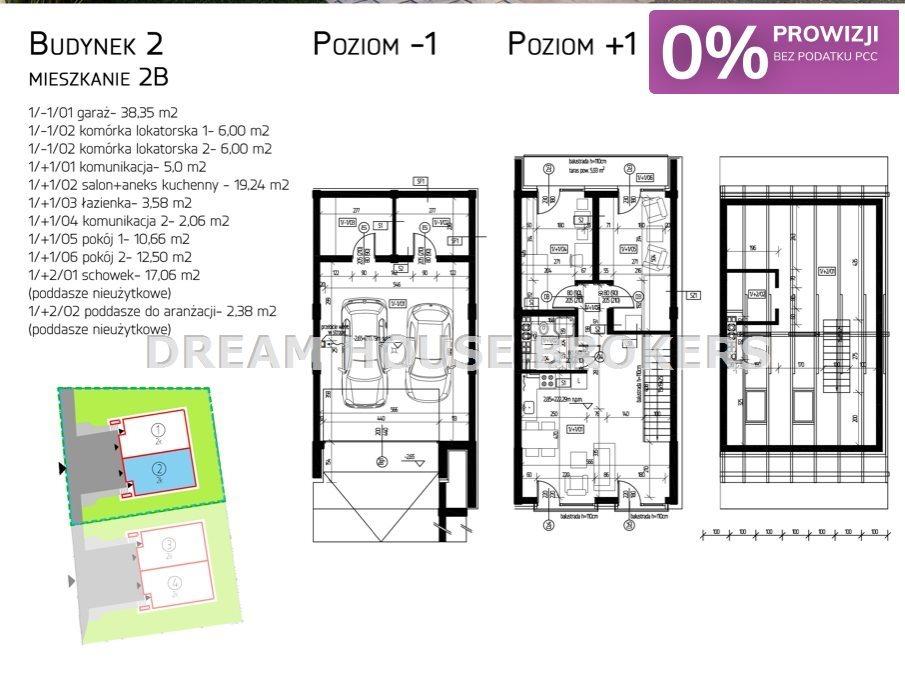 Mieszkanie trzypokojowe na sprzedaż Rzeszów, Przybyszówka, Krakowska  56m2 Foto 2