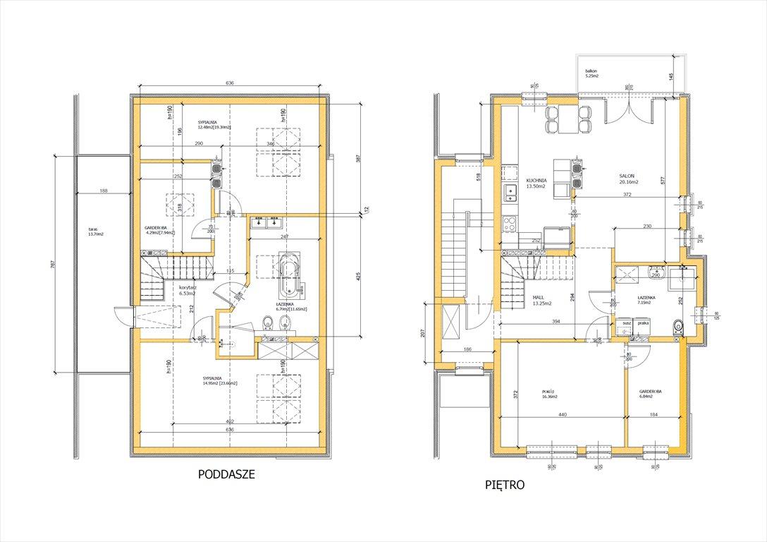 Mieszkanie czteropokojowe  na sprzedaż Wilczyce, Radosna  150m2 Foto 4