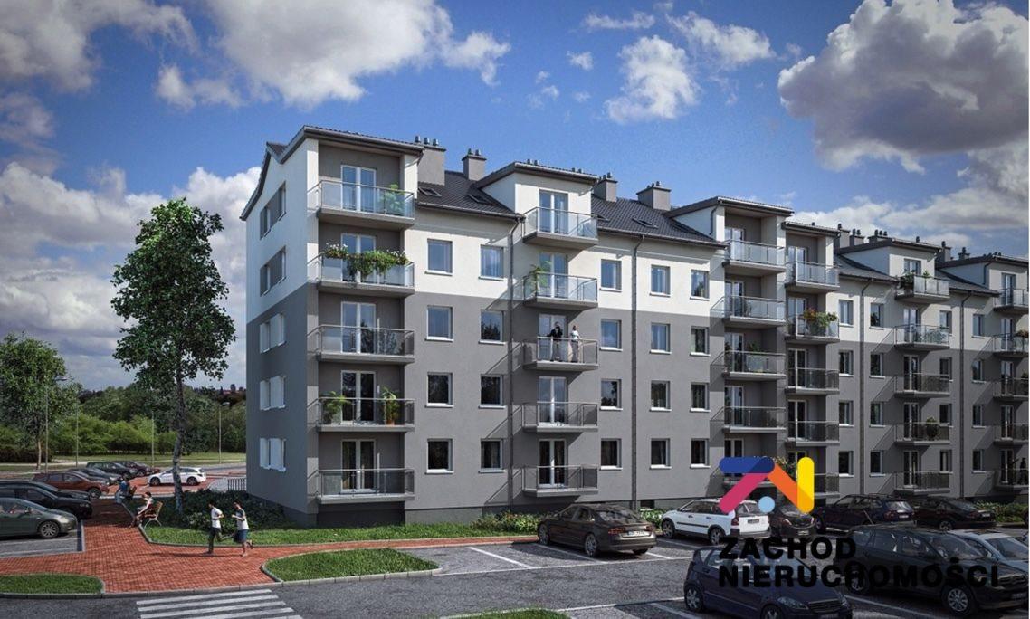 Mieszkanie trzypokojowe na sprzedaż Zielona Góra, Łężyca  50m2 Foto 1