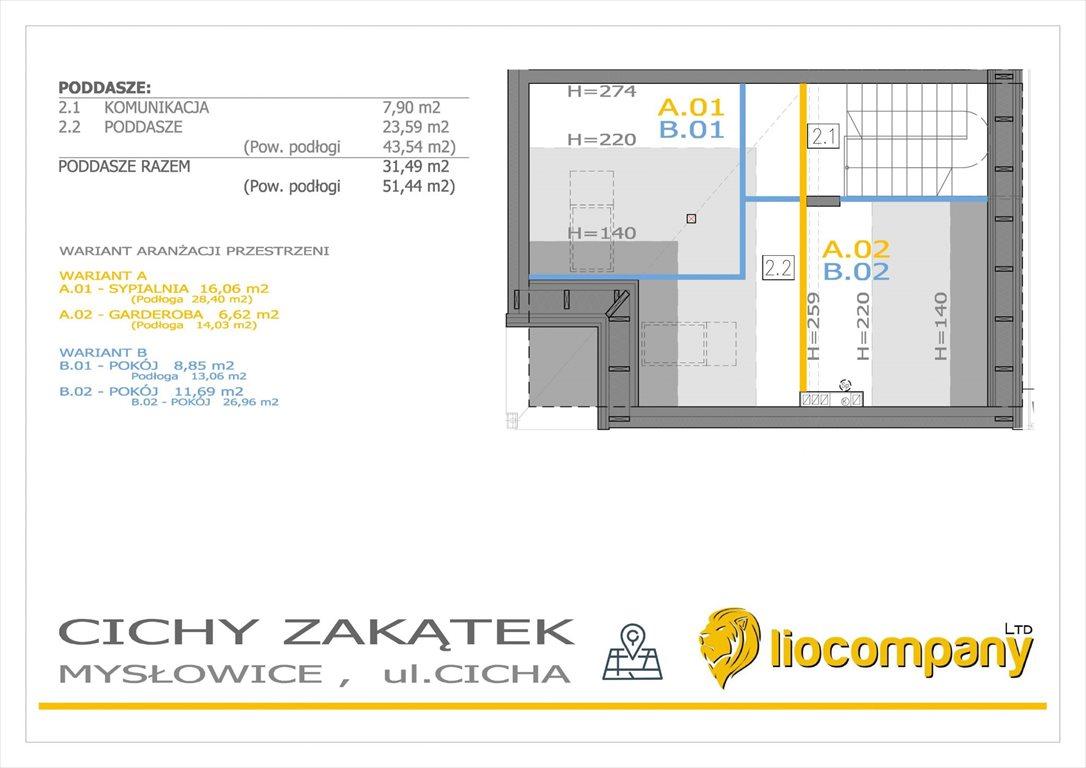 Mieszkanie na sprzedaż Mysłowice, Morgi, Cicha  128m2 Foto 8