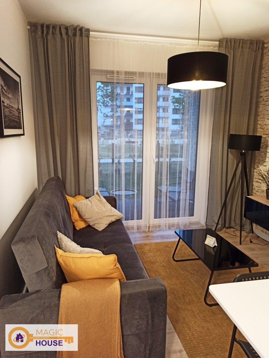 Mieszkanie dwupokojowe na sprzedaż Gdańsk, Letnica, Sucha  34m2 Foto 1