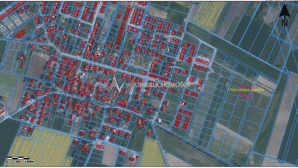 Działka rolna na sprzedaż Mirków, Bławatna  2000m2 Foto 1