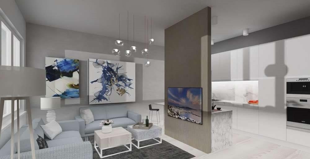 Mieszkanie trzypokojowe na sprzedaż Gryfino  93m2 Foto 1