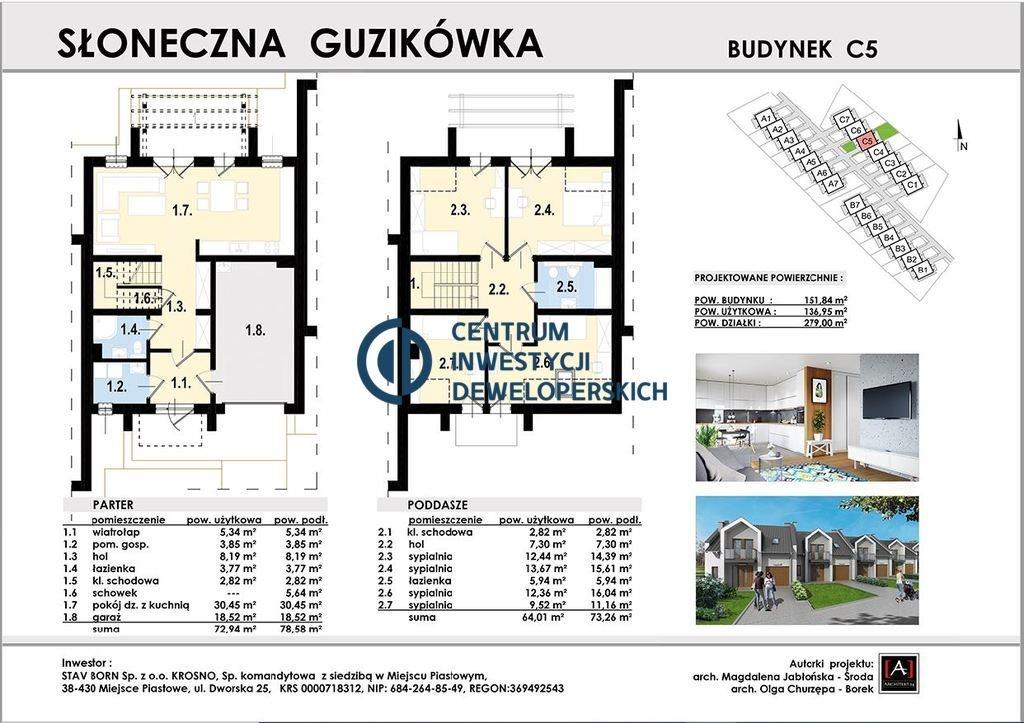 Dom na sprzedaż Krosno, Guzikówka, Romualda Traugutta  137m2 Foto 4