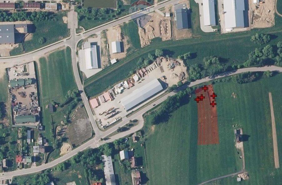 Działka przemysłowo-handlowa pod dzierżawę Nowy Targ  4022m2 Foto 1