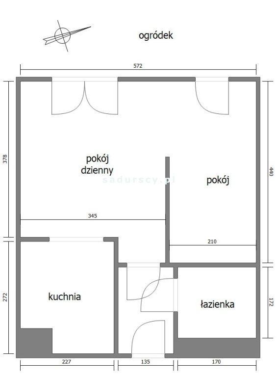Kawalerka na sprzedaż Kraków, Grzegórzki, Osiedle Wieczysta, al. Jana Pawła II  35m2 Foto 3