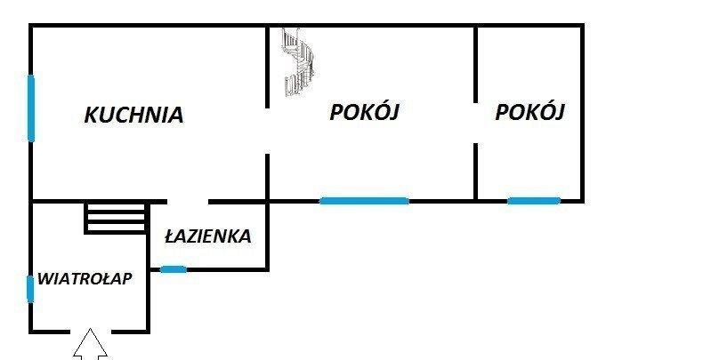 Dom na sprzedaż Dąbrowa Górnicza, Centrum  55m2 Foto 5