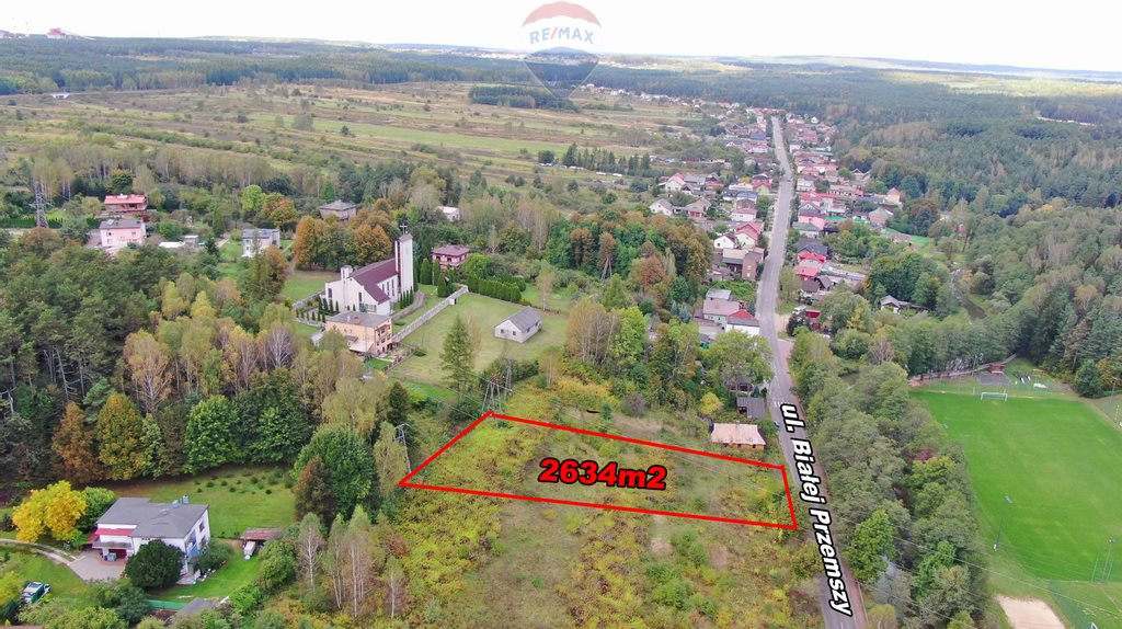 Działka budowlana na sprzedaż Dąbrowa Górnicza, Okradzionów, Białej Przemszy  2634m2 Foto 11