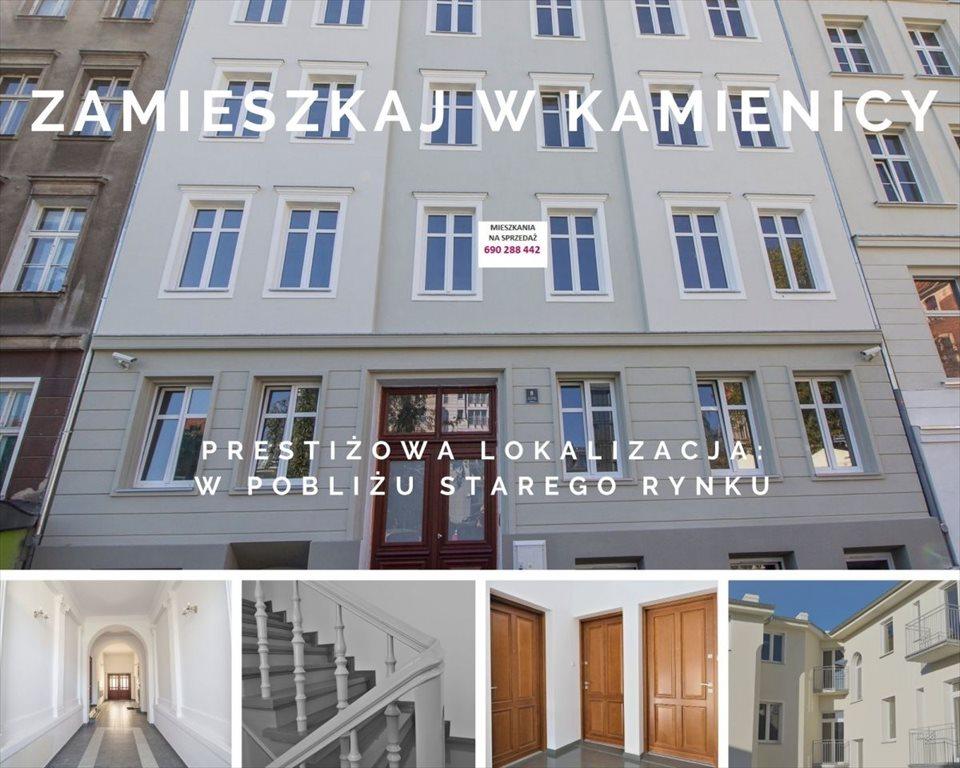 Mieszkanie dwupokojowe na sprzedaż Poznań, Centrum, ul. Półwiejska  33m2 Foto 1
