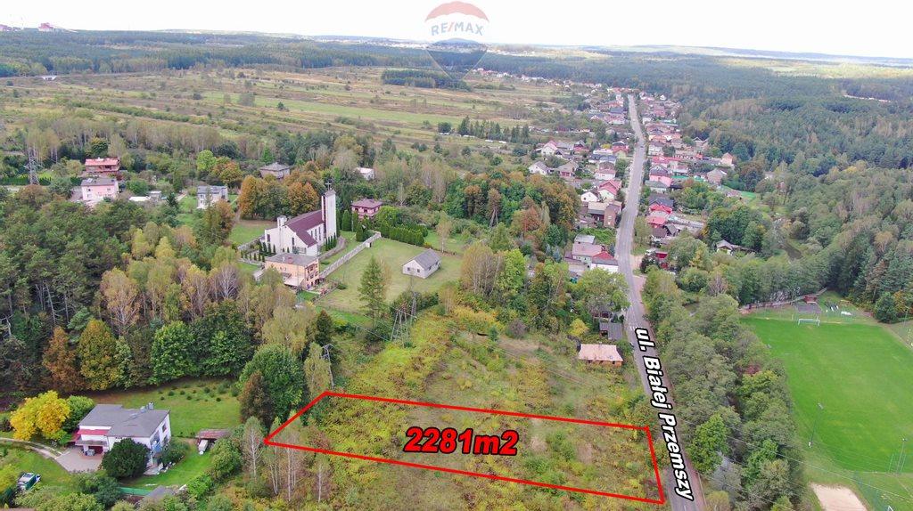 Działka budowlana na sprzedaż Dąbrowa Górnicza, Okradzionów, Białej Przemszy  2281m2 Foto 10