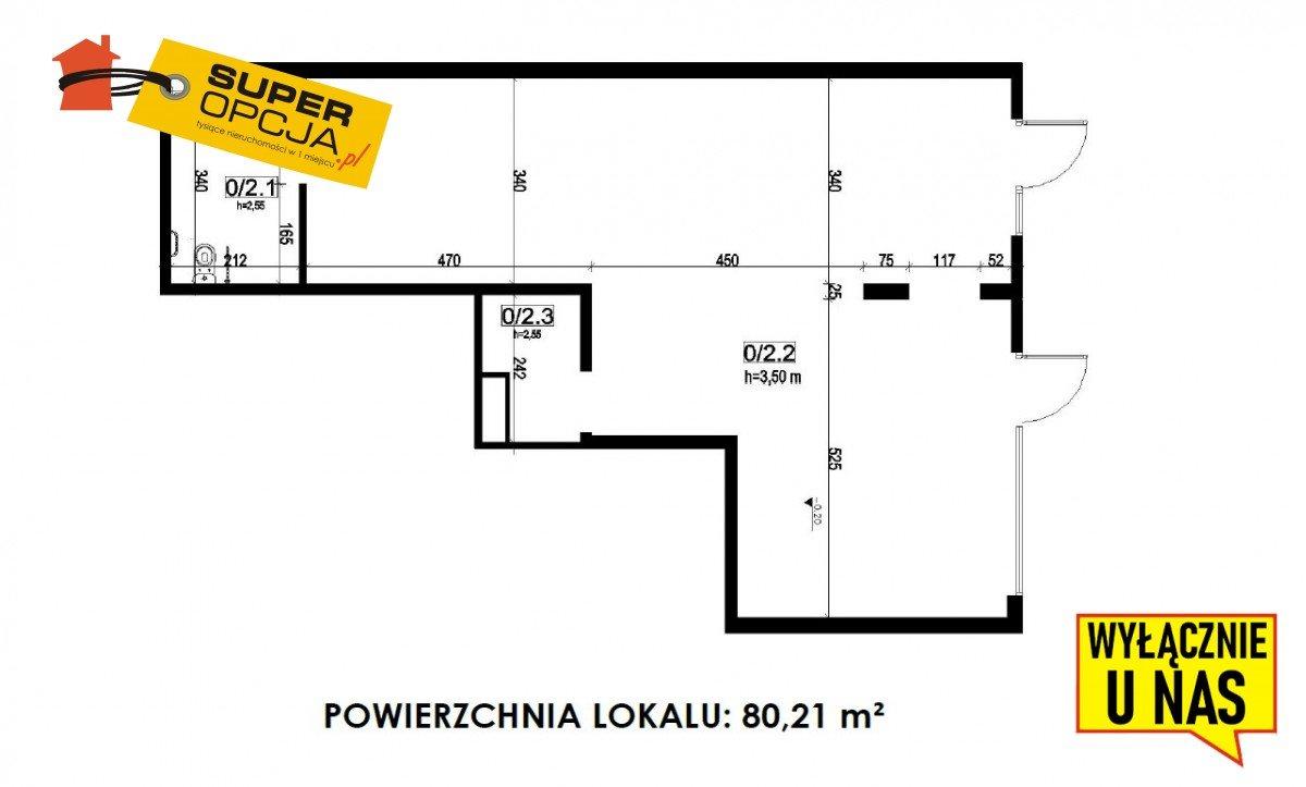 Lokal użytkowy na sprzedaż Kraków, Łagiewniki, Rzemieślnicza  80m2 Foto 2